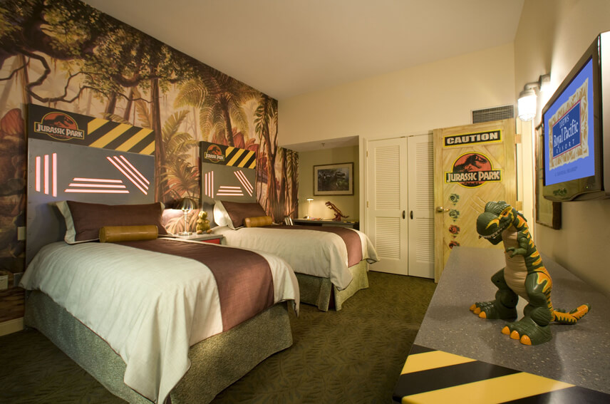 This Hotel Room In Universal Studios Japan Makes You All Not Have Any Desire To Return Home